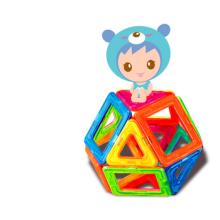 Vara magnética DIY brinquedos crianças blocos de construção