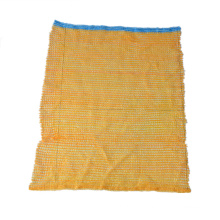 orange PE Plastic Raschel mesh bag for packing onion and other agricultural products hot sale pe raschel mesh bag for potato