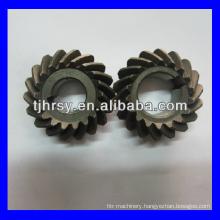 Transmission crown pinion gear