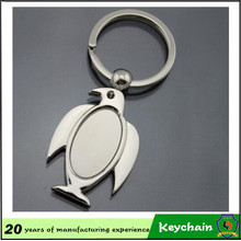 2016 Venda Quente Animal Pigeon Keyring Metal Chaveiro