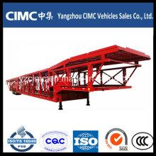 Cimc 3 Axle Car Carrier Semi Trailer