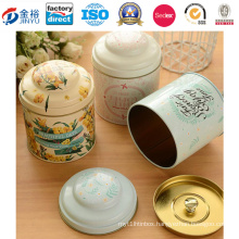 Personalized Lid Metal Food Box for Chinese Tea Packaging