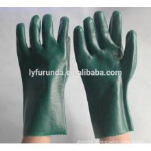 Gants de protection industriels en PVC anti-chimiques
