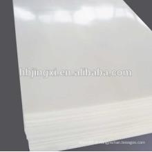 Feuille rigide de PE de feuille de PE en plastique blanche