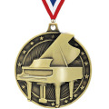 Piano Silver Medal For Musical Instrument Collection