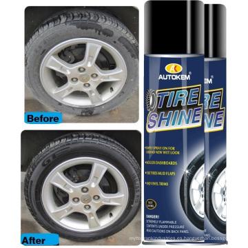 500ml de protección duradera anti-envejecimiento del neumático vestir brillo de los neumáticos