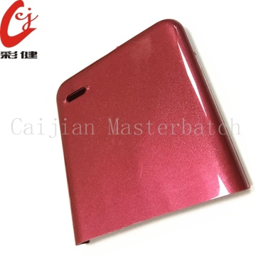 Phone Shell Red Masterbatch Granules