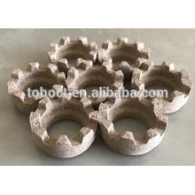 Nelson proveedor exclusivo / exclusivo TOHO férulas de cerámica para soldadura de pernos