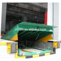 hydraulic electric car loading dock ramp for truck