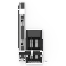 Máquina de corte por láser de fibra 1000W / 2000W IPG