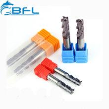BFL Vollhartmetallflach 12 mm Schaftfräser D12 * FL30 * 75L * 4F