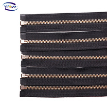 Factory Wholesale Customized Metal Zipper For Garments