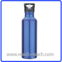 750ml Sports Aluminum Water Bottle with Straw (R-4052)