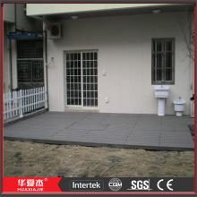 Black Vinyl Flooring Tiles For Balcony