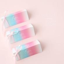 Boda de caja de empaquetado del caramelo rosado de los nuevos productos