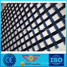 Asphalt-Verstärkungs-Glasfaser Geogrid 50kn für Straße