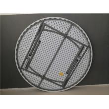 Tabela de dobramento redonda de 160 cm para o assento Pepole de 8-10 para uso na festa