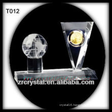 Wonderful K9 Crystal Clock T012
