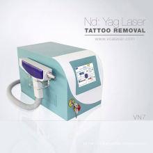 Mini retrait de tatouage de diode laser de rayon X