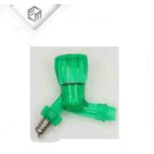 Покрашенный PVC пластичная раковина бассейна водопроводной воды кран