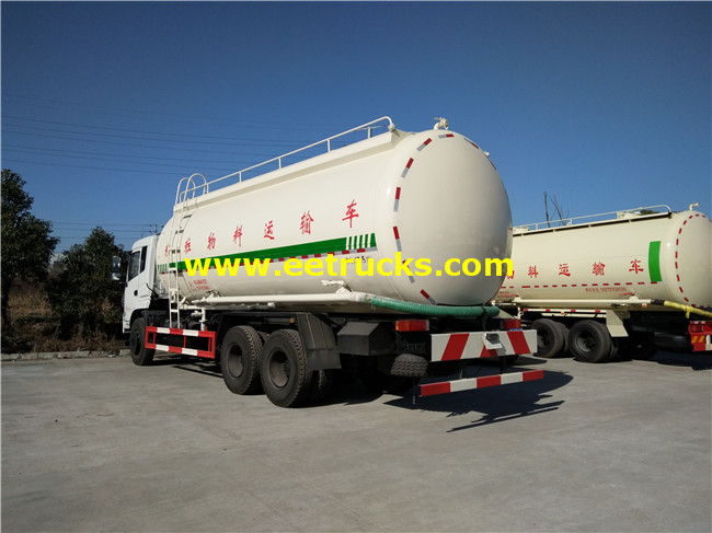 6x4 Cement Delivery Tank Trucks