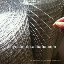 Malla de alambre soldada galvanizada directa de fábrica