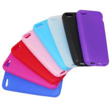 Colores silicona Gel funda para el iPhone 5s 5