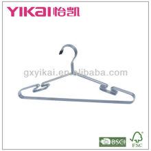 Набор из 3шт хромированных металлических вешалок для рубашек с вырезами