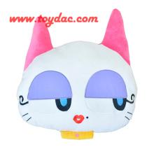 Stuffed Cat Cartoon Cushion