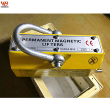 Levantador magnético permanente de 5 toneladas para la elevación de acero del deber del heave