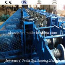 Máquina formadora de rollos intercambiados C / Z automática (AF-CZ)