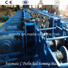 Automatic C/Z Interchanged Roll Forming Machine (AF-CZ)