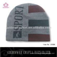 Bonnet en laine en tricot tricoté en hiver