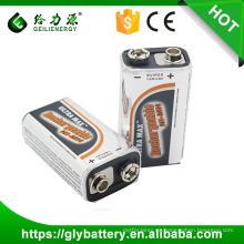 Batería de alta potencia de control remoto NI-MH 6f22 9v