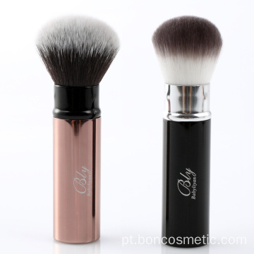 Private Label escova retrátil escova em pó blush brush