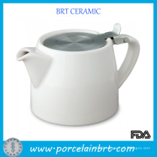 Hot Sale Custom Ceramic Tea Pot with Stainless Infuser