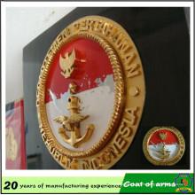 Profession Emblem Factory Custom Emblema 3D para pared