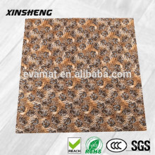 Non-toxic eva foam tatami printed floor mat