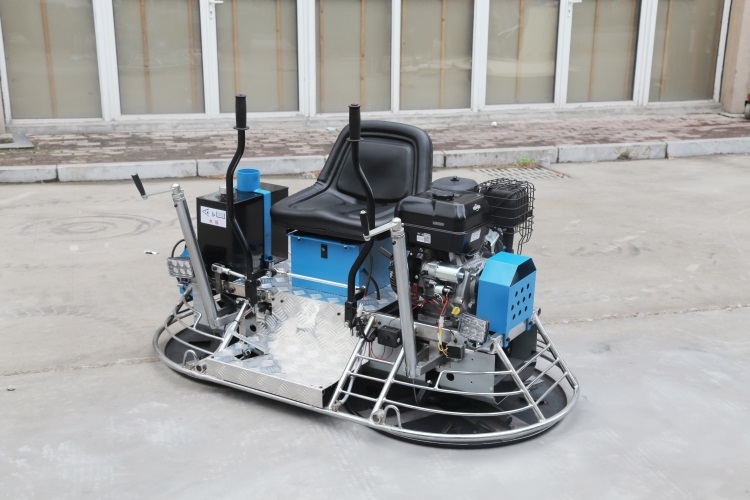 ride on concrete power trowel