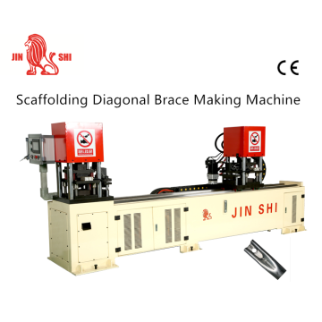 मचान Diagonal Brace Making Machine