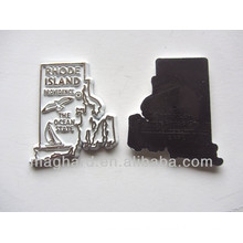 Black and white PVC 3Dcity fridge magnet