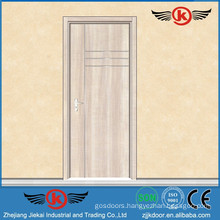 JK-PU9114 Flat With Metal-strip Serie Flush Door Design