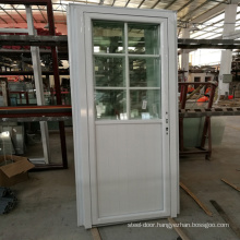 Factory  Conch UPVC Profile Tempered Glass Pvc Doors