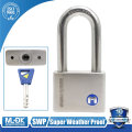MOK@12/50WF wholesale super weather proof stainless steel padlock 50mm key alike