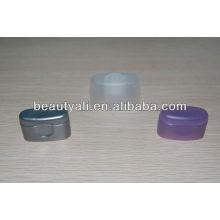 Пластиковый крем косметический супер овальный колпачок для трубки