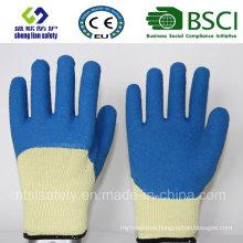 10g Kevlar Liner with 3/4 Smart Grip Latex Coating Work Gloves