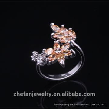 anillos de plata esterlina al por mayor de la fábrica profesional de la joyería para 2018