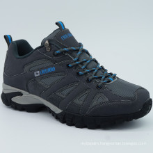 Men Genuine Leather Hiking Shoes Climbing Shoes with Waterproof