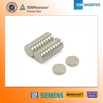 Aimant en néodyme D42 * 2,5 mm N42