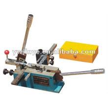 Rule die-cutting and cutting machine